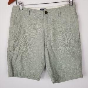 J Crew Grammercy Linen Blend Shorts